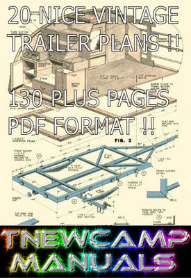 Product picture CAR TRAILER VINTAGE PLANS