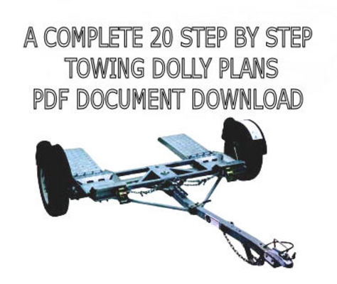 Product picture CAR HAULER TOWING DOLLY PLANS PDF DOWNLOAD